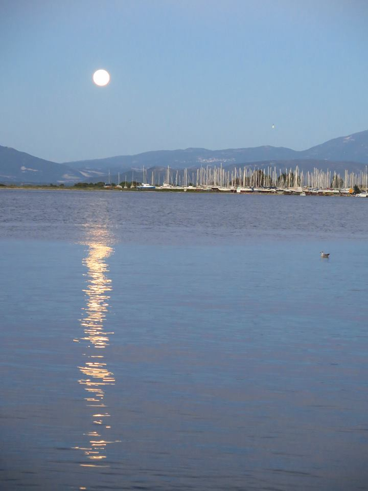 Moonlight over Preveza