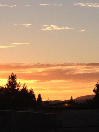 Sunset over Pleasanton 3