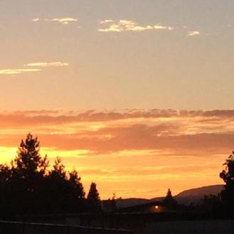 Sunset over Pleasanton 3