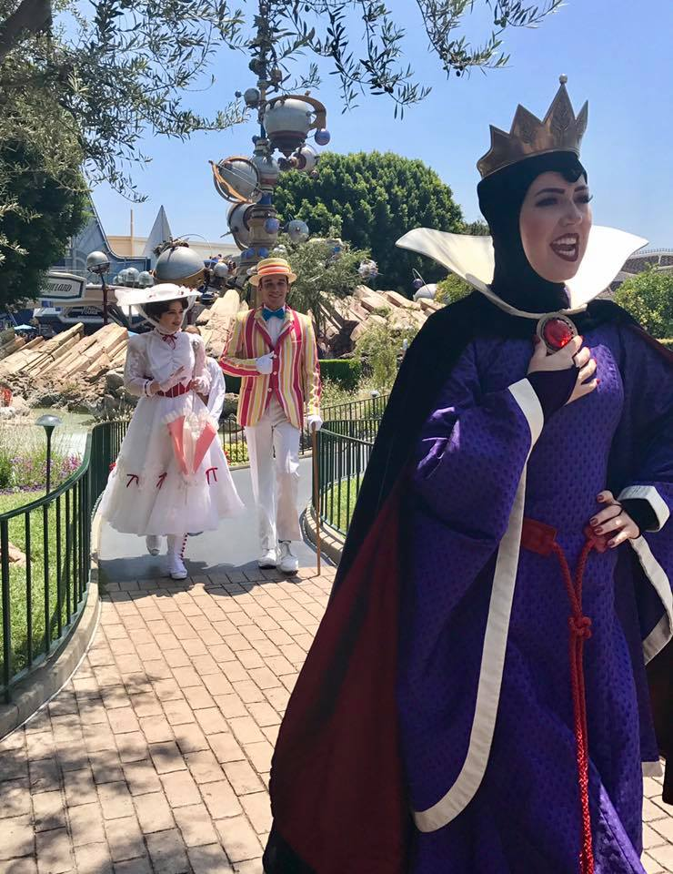 Evil Queen and Mary Poppins