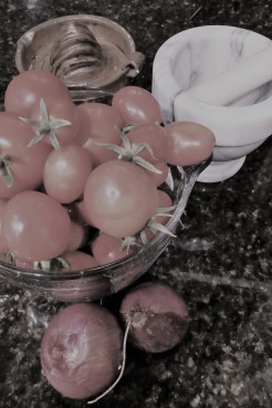 tomatoes from the garden 2