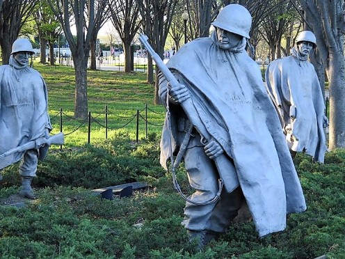 Korean war memorial (2)