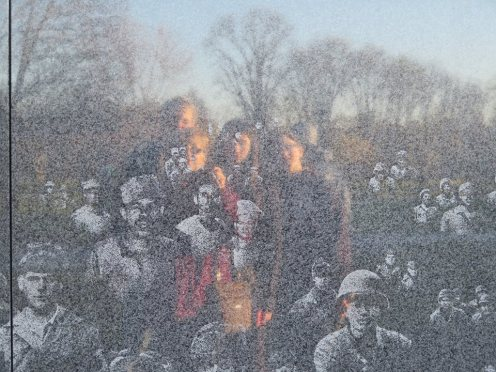 Korean war memorial reflection